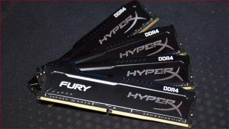 Обзор комплекта оперативной памяти DDR4 HyperX Fury с частотой 2133 МГц - 1
