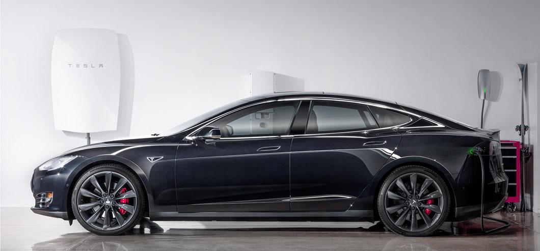 Tesla x2 батарея и машина