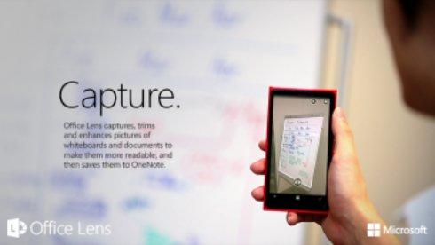 Новая программа Microsoft превратит смартфон в сканер