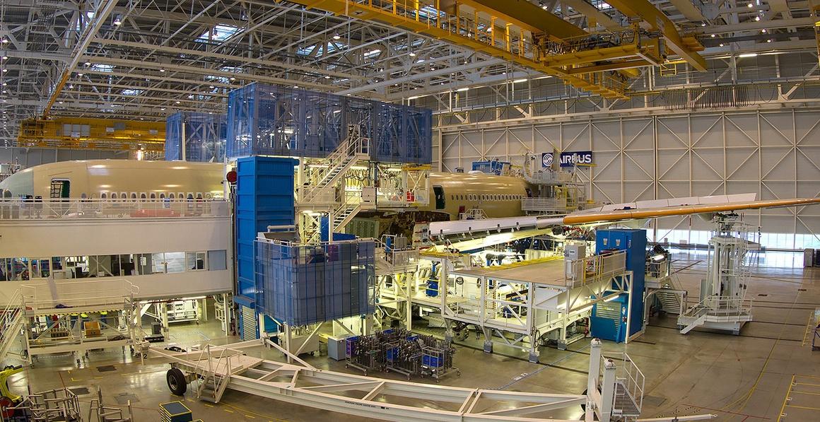 У нового самолёта Airbus более 1000 деталей отпечатано на 3D-принтере - 1