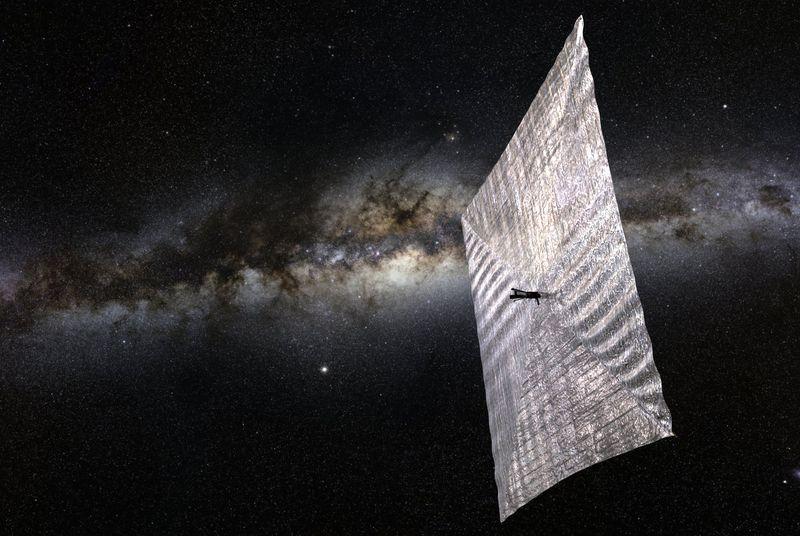 20 мая в космос запустят аппарат с солнечным парусом - 1