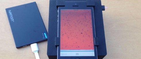 Ученые научились находить паразитов в крови с помощью iPhone
