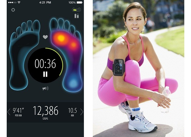 Sensoria: умные носки, которые помогают правильно бегать - 5