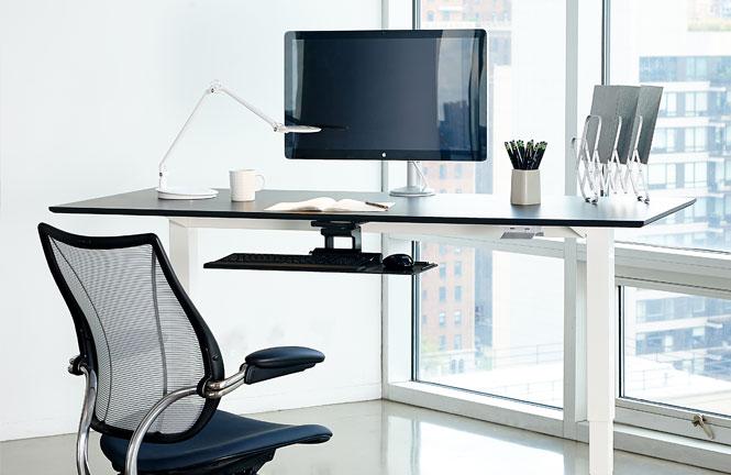 Обзор столов для работы сидя-стоя - 18