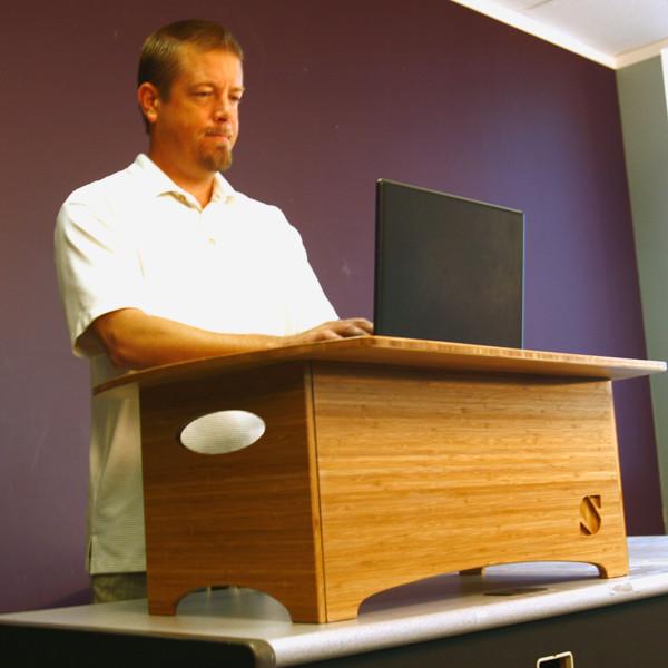 Обзор столов для работы сидя-стоя - 3