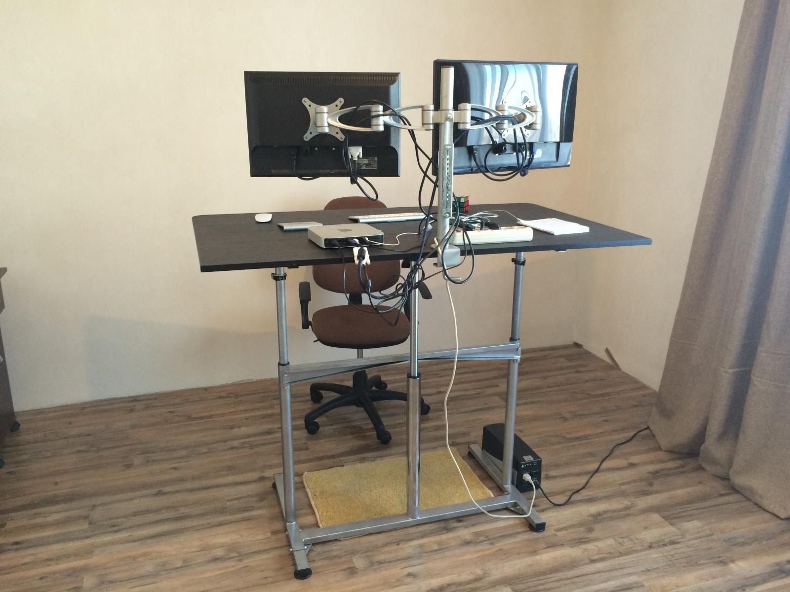 Обзор столов для работы сидя-стоя - 33