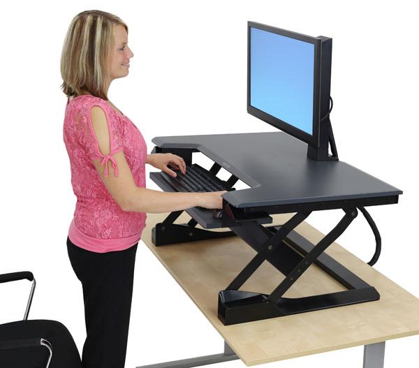 Обзор столов для работы сидя-стоя - 6