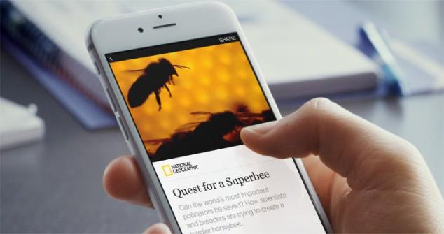 Статья National Geographic полностью попавшая в Facebook, с вёрсткой, шрифтами, текстом и картинками