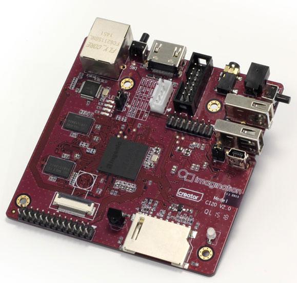 Обновлен микрокомпьютер Imagination Technologies Creator CI20