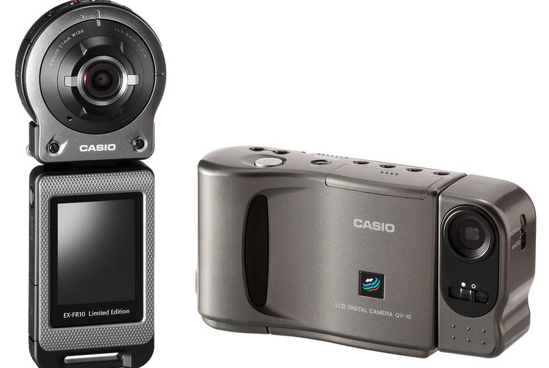 20 лет первой цифровой камере с ЖК-дисплеем - 1