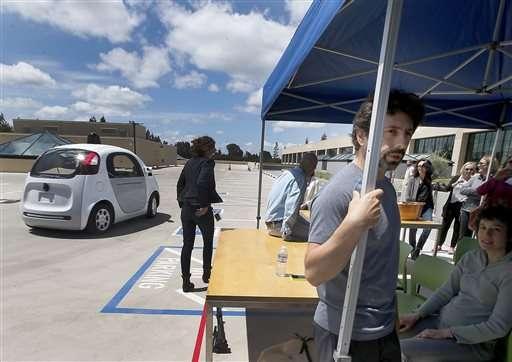 Автомобиль Google выезжает на дороги общего пользования - 2