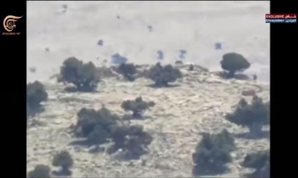 Боевое применение мультикоптера в Сирии - 11