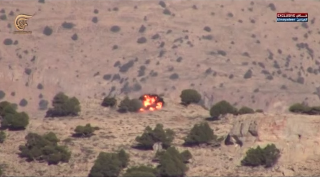 Боевое применение мультикоптера в Сирии - 12