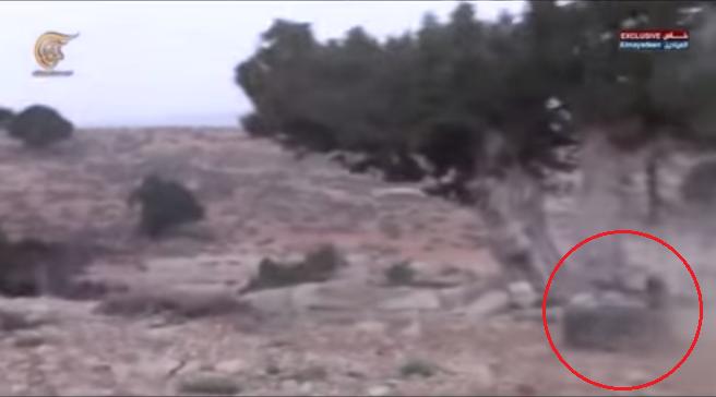 Боевое применение мультикоптера в Сирии - 17