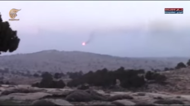 Боевое применение мультикоптера в Сирии - 9