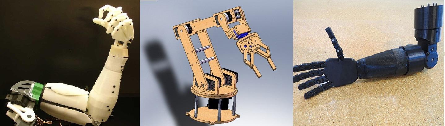 Проектирование антропоморфного манипулятора c 7 степенями - 2