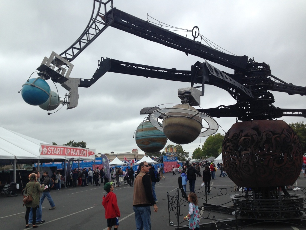 Maker Faire-2015: гигантские стреляющие роботы и другие интересные экспонаты - 3