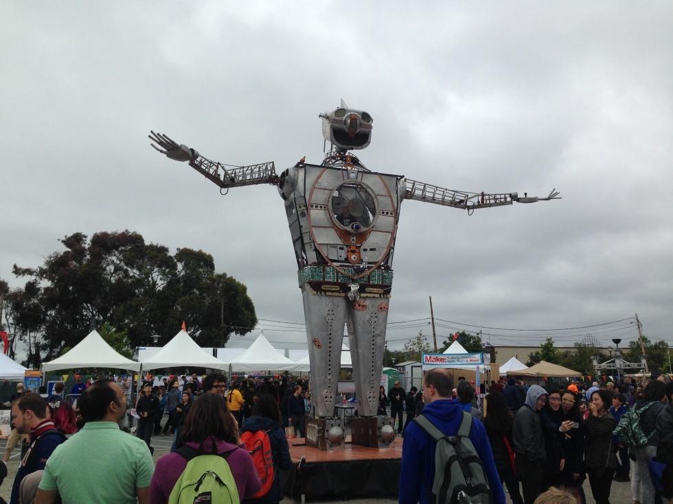 Maker Faire-2015: гигантские стреляющие роботы и другие интересные экспонаты - 8
