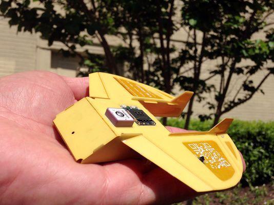 Одноразовый беспилотник-планер Cicada - 2
