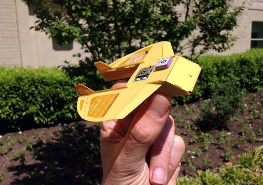 Одноразовый беспилотник-планер Cicada - 1