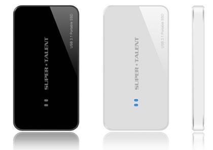 Объем накопителя Super Talent USB 3.1 Portable RAIDDrive — до 1 ТБ