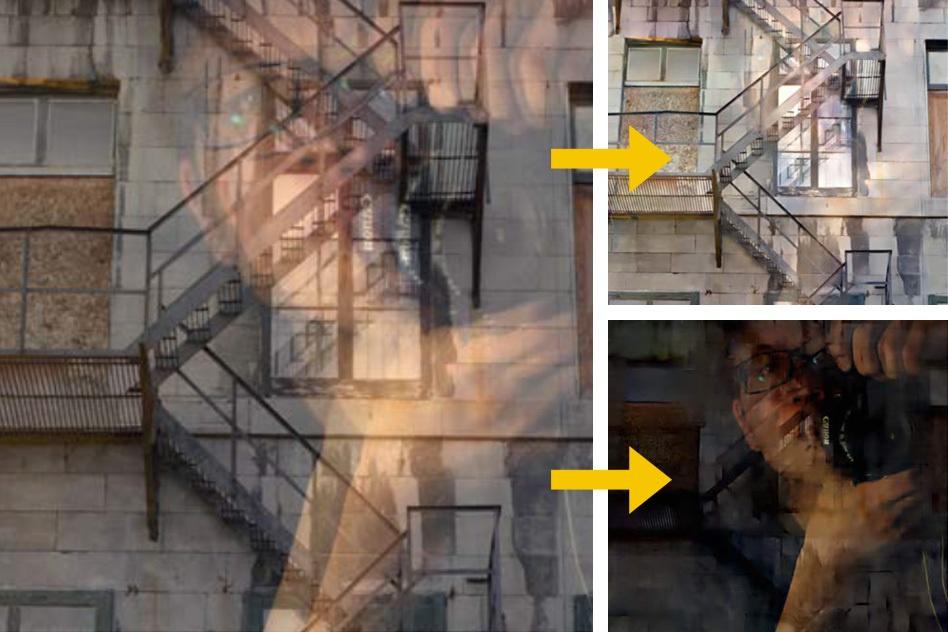 В МТИ разработали алгоритм, который удаляет с фотографий отражения в окнах - 1