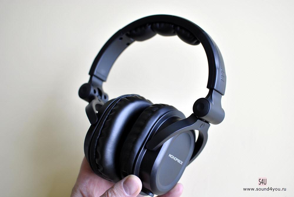 Обзор наушников закрытого типа Monoprice Premium Hi-Fi DJ MHP-839 - 8