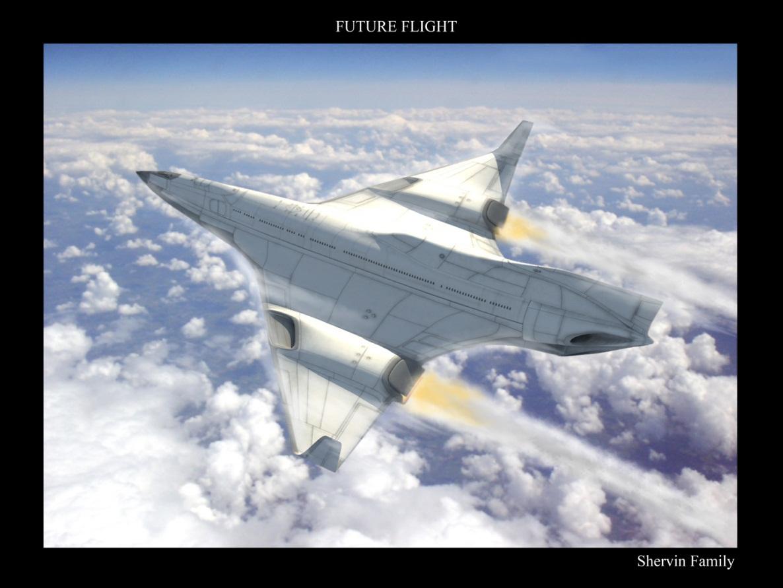 Мечты об авиации будущего - 6