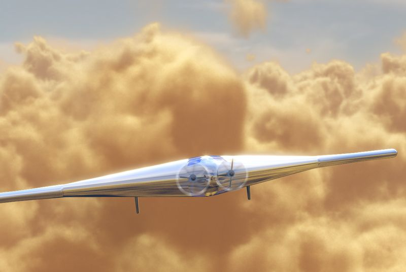 Надувной беспилотный аппарат поможет исследовать Венеру? - 1