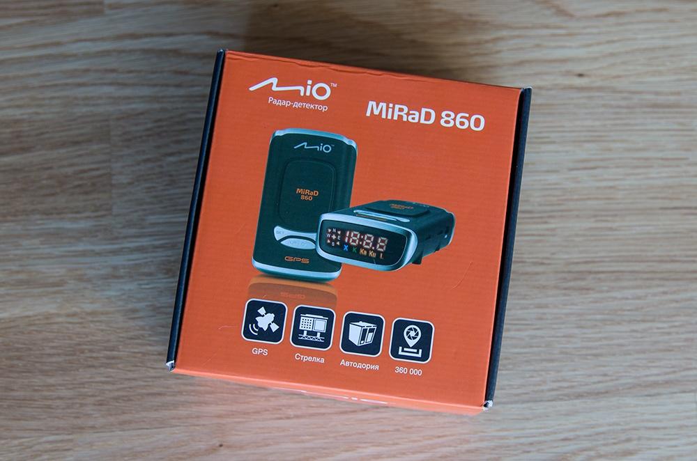Обзор радар-детектора Mio MiRaD 860 - 2