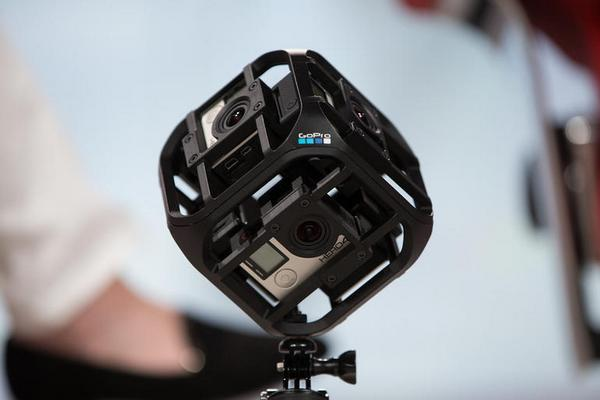 GoPro Six-Camera Spherical Array
