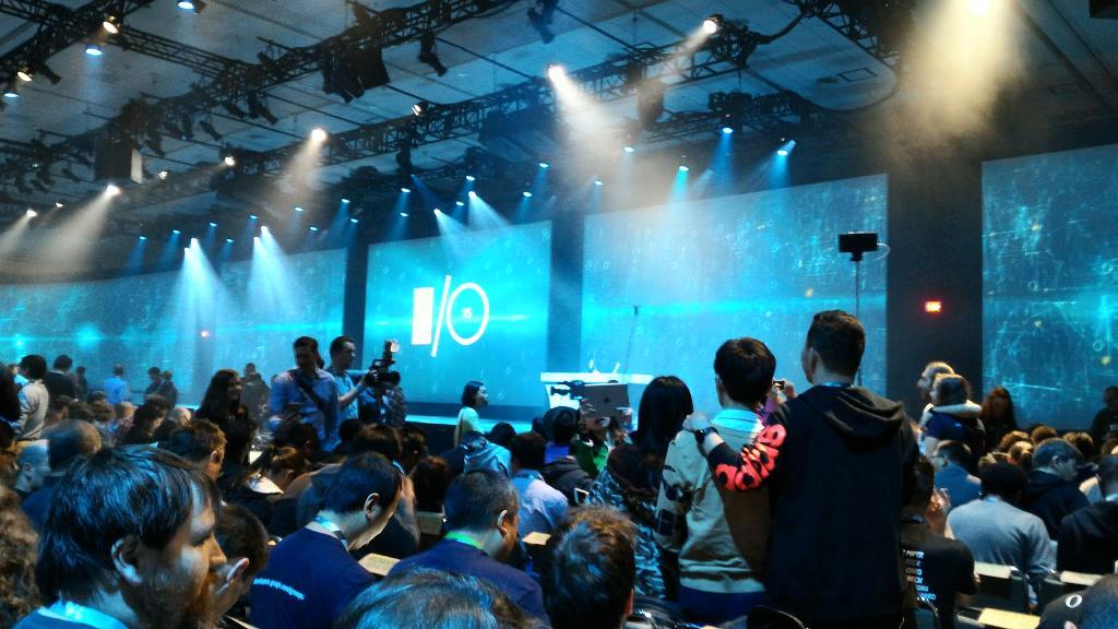 Конференция Google I-O 2015 началась (обновляется). День 1 - 22