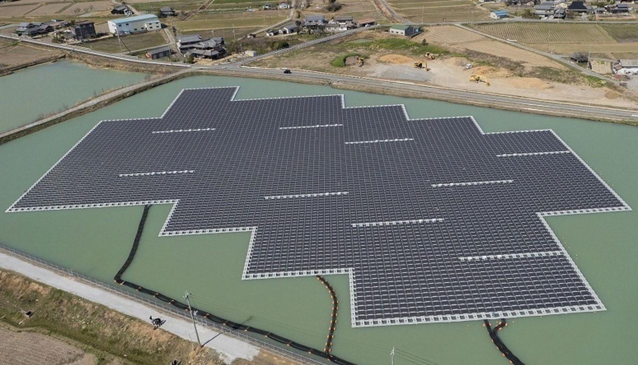 Японцы завершили строительство крупнейшей в мире плавучей солнечной электростанции - 2