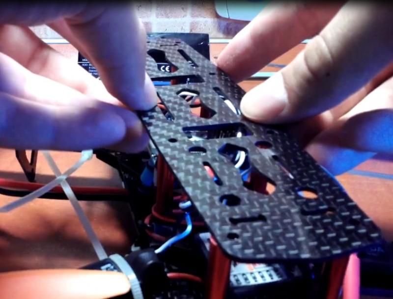 Как собрать квадрокоптер 250-го масштаба - 36