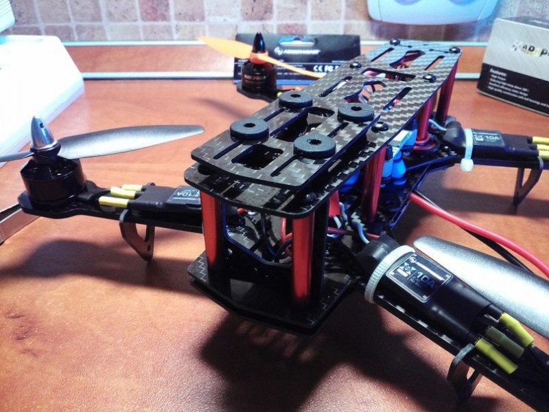 Как собрать квадрокоптер 250-го масштаба - 37
