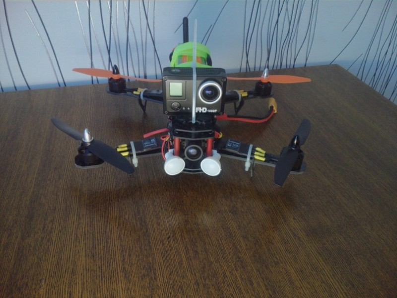 Как собрать квадрокоптер 250-го масштаба - 38