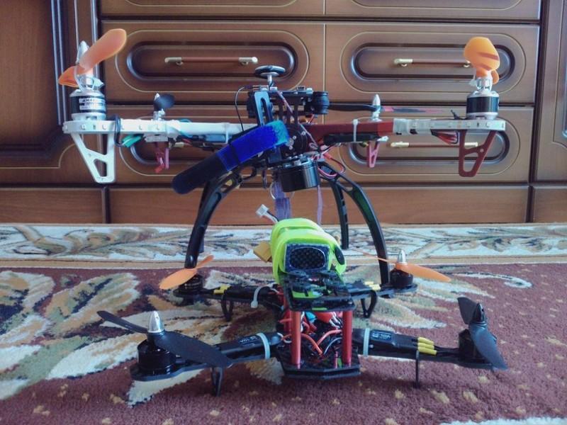 Как собрать квадрокоптер 250-го масштаба - 1
