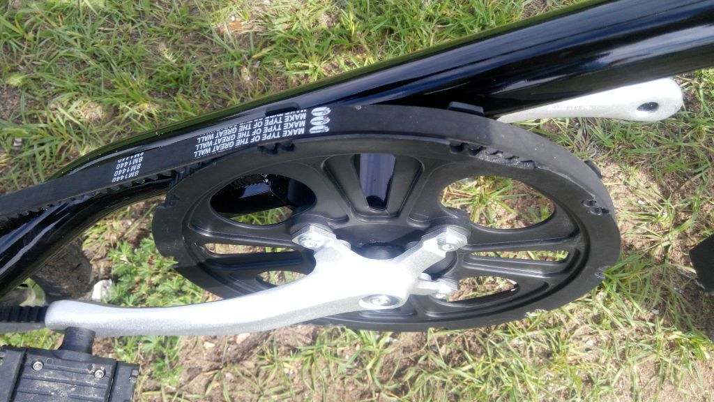 Обзор двухколесного городского велосипеда для гика - 15
