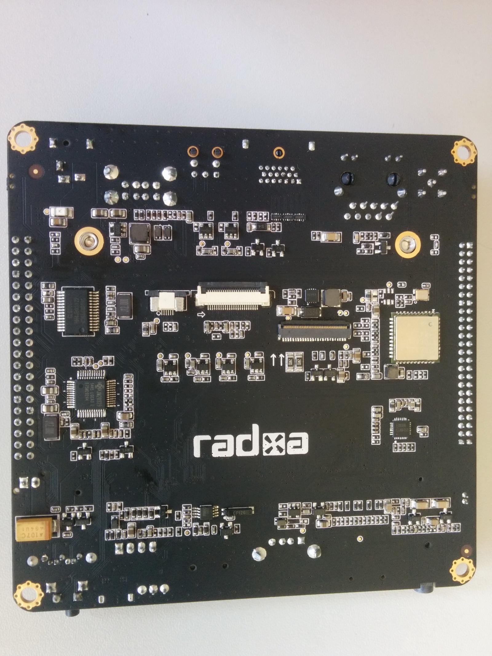 Обзор отладочного комплекта Radxa Rock 2 Square и SoM - 5