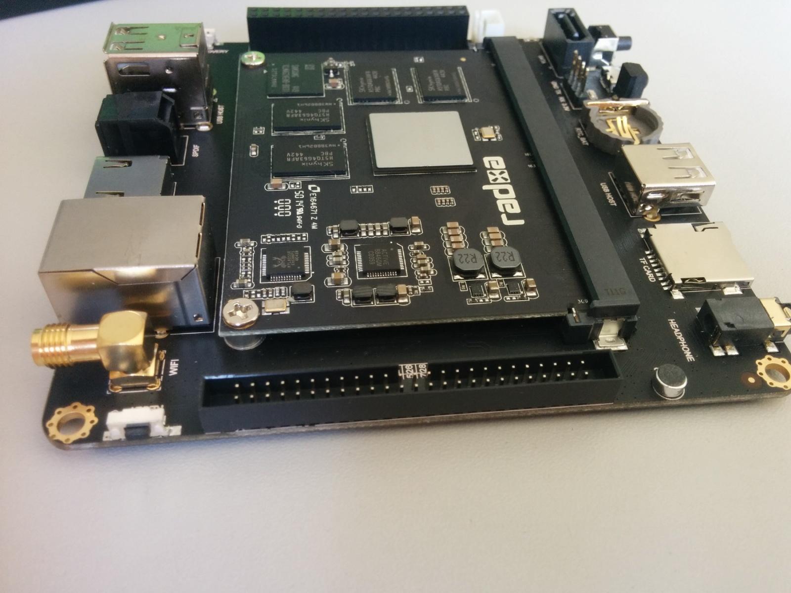 Обзор отладочного комплекта Radxa Rock 2 Square и SoM - 6