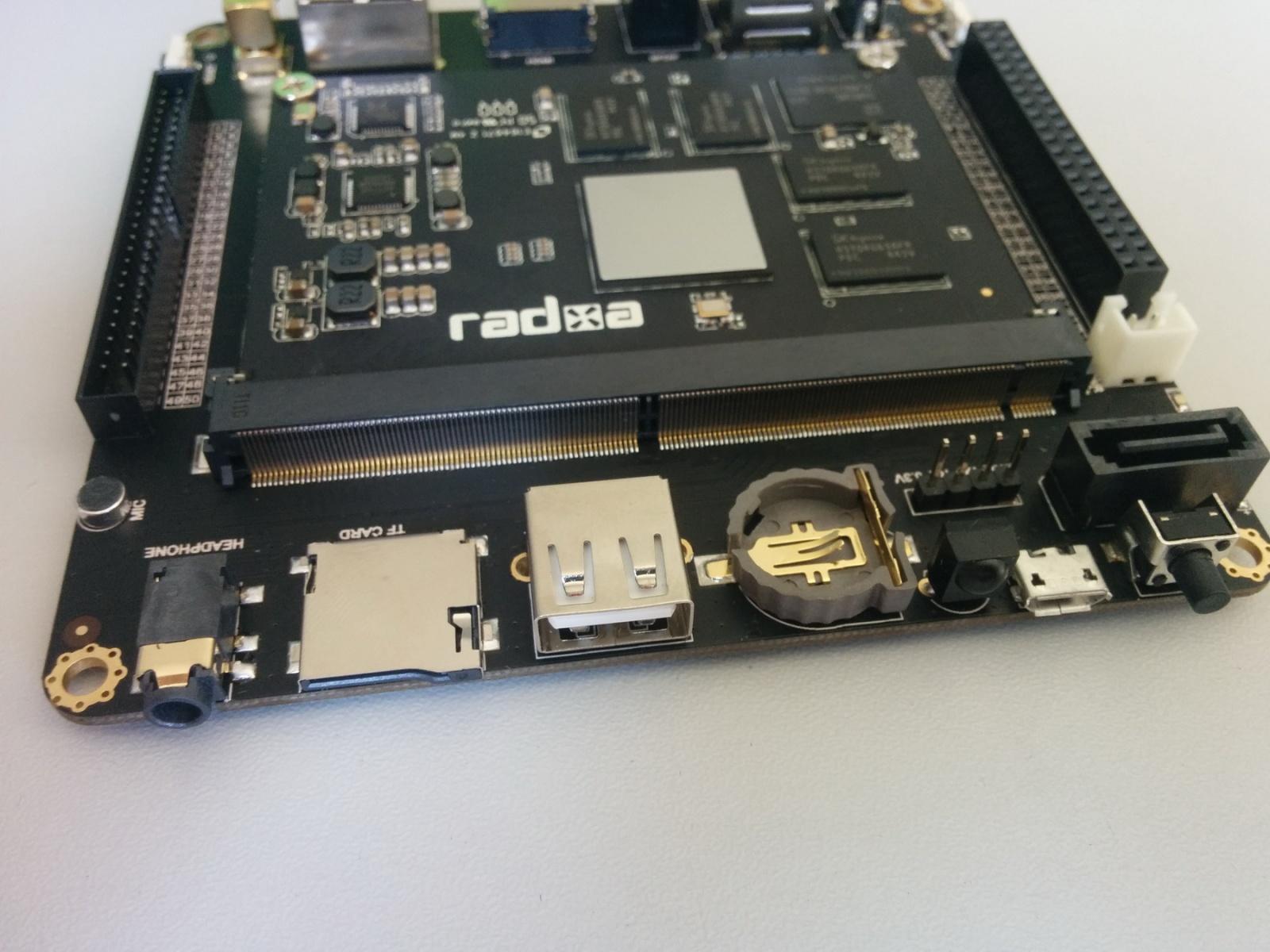 Обзор отладочного комплекта Radxa Rock 2 Square и SoM - 7
