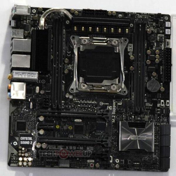 Системная плата Asus X99M-WS рассчитана на процессоры Intel в исполнении LGA 2011-v3