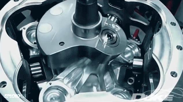 Аксиальные двигатели внутреннего сгорания - 1