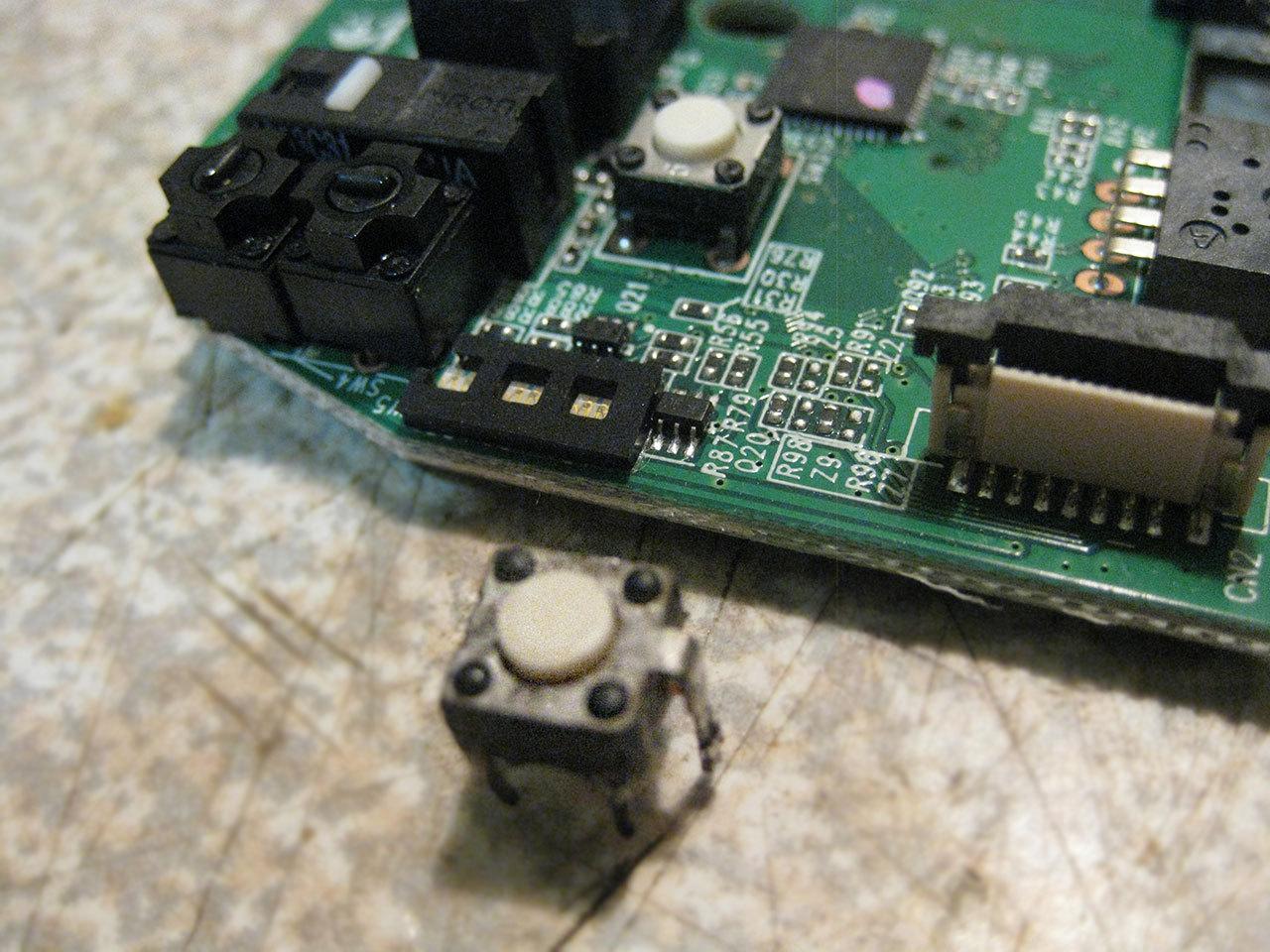 Замена умершей средней кнопки мыши Logitech G602 - 5