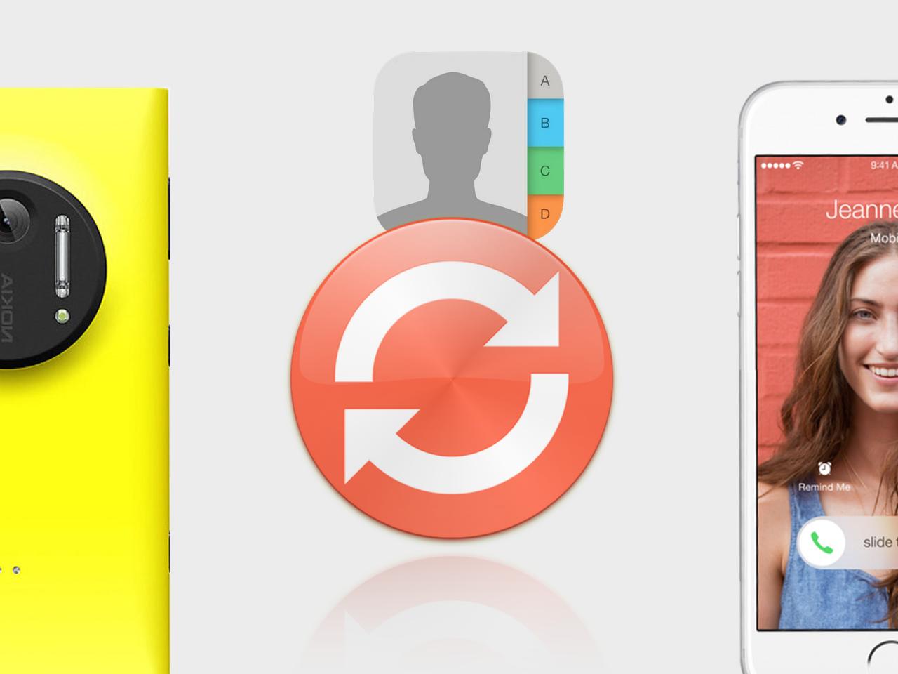 Перенос контактов с Windows Phone на iOS - 1