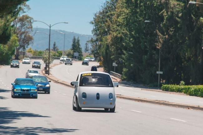 Беспилотные машины Google выехали на улицы Маунтин-Вью - 1