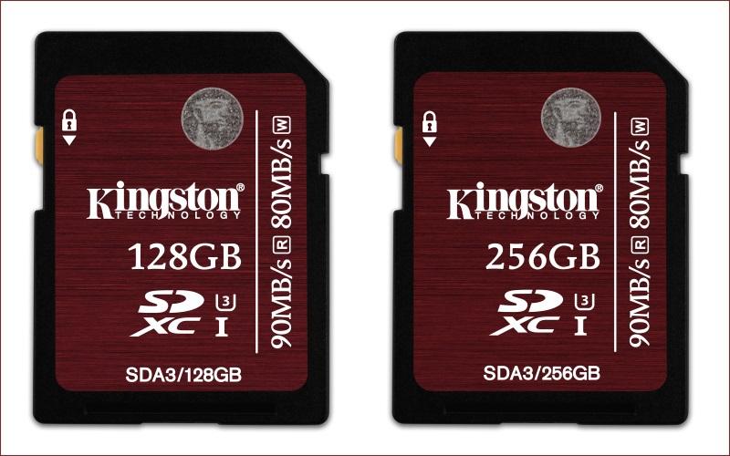 [Анонс] Kingston представляет карты памяти SDXC емкостью 128 и 256 гигабайт - 1
