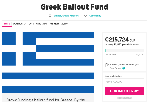 Греческий кризис с точки зрения IT-сообщества - 1