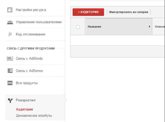 Используем умные списки ремаркетинга в Google Analytics - 3
