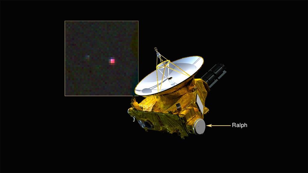Новости Плутона: метан, новые фото и огромный кратер - 1